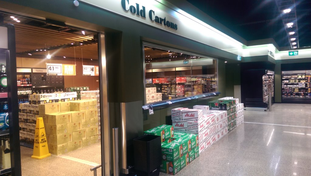 Commercial Coolroom – Dan Murphy's